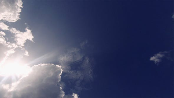 Thumbnail for Overcast Clouds Gives Way to Sun & Blue Sky
