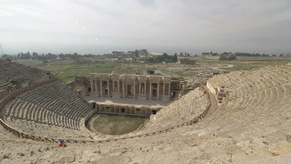 Thumbnail for Exploring Amphitheatre of Hierapolis in Pamukkale, Turkey