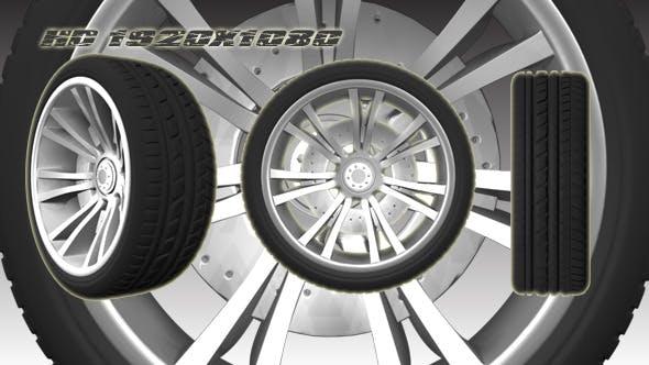 3D Animated Wheel 2