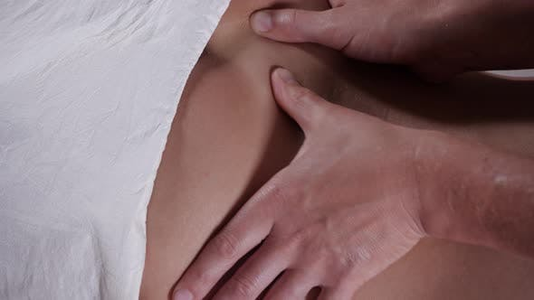Thumbnail for Back Massage Procedure in the Beauty Salon