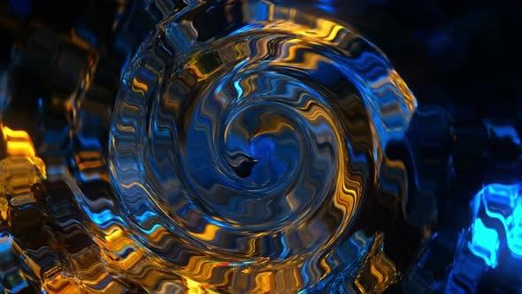 Thumbnail for Rotation von hell leuchtenden Kreisen
