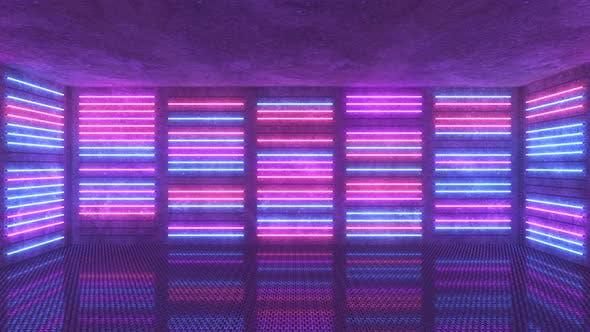 Neonhintergrund
