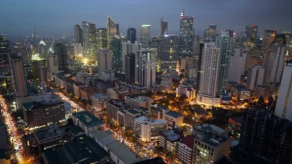 Thumbnail for Manila, Philippines. Makati Business District