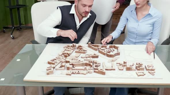 Thumbnail for Team of Architect Thinking How To Modernise City Centre