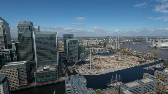 Docklands Canary Wharf London Finance City Money Business Offices