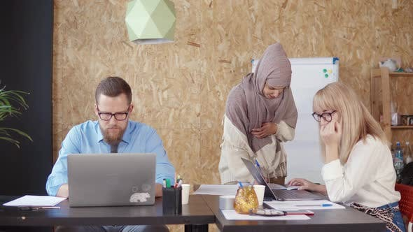 Diverse Team in Office