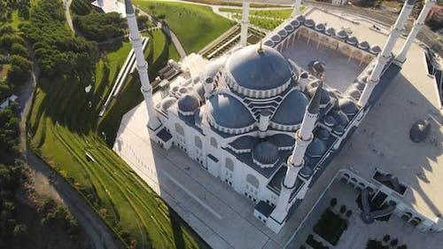 Grand Camlica Mosque Istanbul