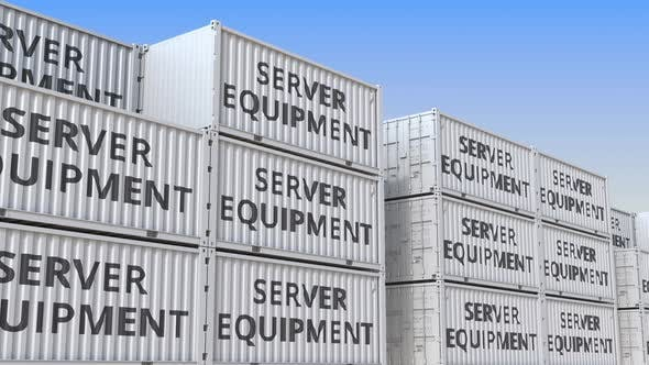 Thumbnail for Cargo Containers with Server Equipment