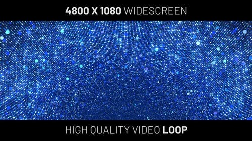 Blue Particles Widescreen Background