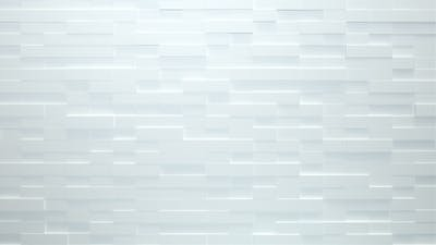 Clean White Bricks 8