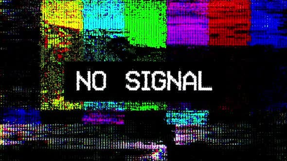 Thumbnail for No Signal Digital Glitch