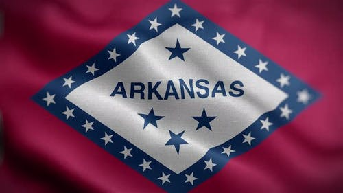 Arkansas State Flag Front