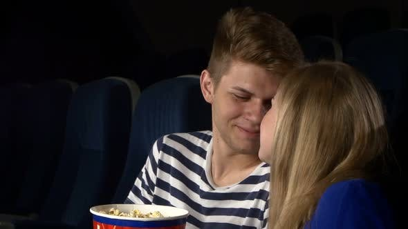 Thumbnail for Couple Feeding Each Other at the Cinema