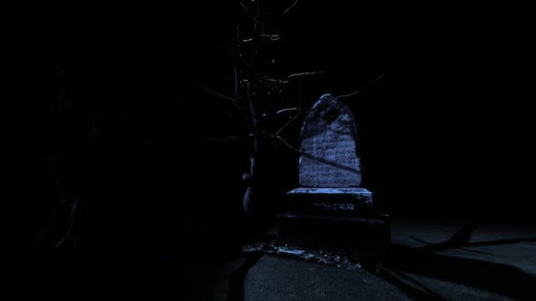 Thumbnail for Dark Night and Old Cemetery