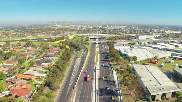 Thumbnail for On The Move Aerial View of Motorway