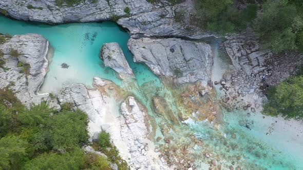 Cover Image for Flight above River in the Triglav National Park