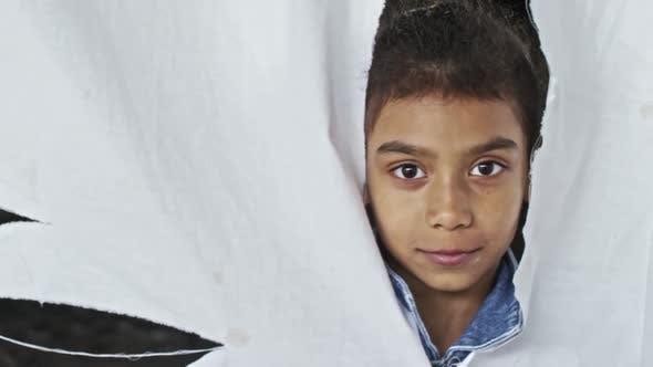 Thumbnail for Arab Refuge Girl Looking