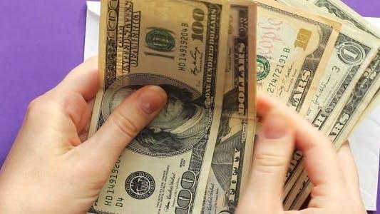 Thumbnail for Dollars In Envelope