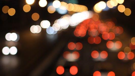 Thumbnail for Night Traffic Time Lapse 03