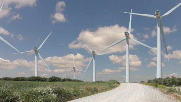 Thumbnail for Wind Farm and Clouds