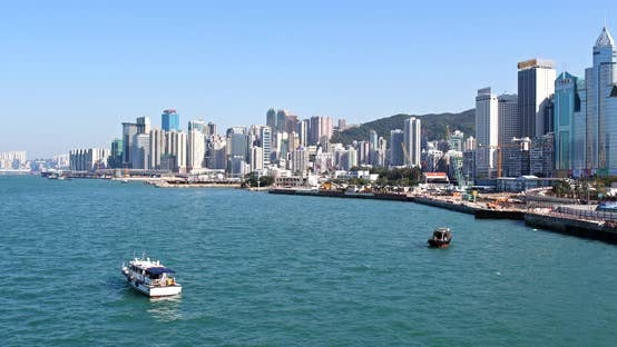 Thumbnail for Hong Kong Victoria harbour