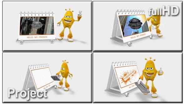 Thumbnail for Promoción 3D de dibujos animados