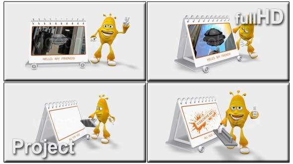 Cartoon 3D Promote - product preview 0