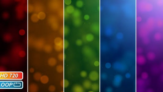 Cover Image for Overlay Bokeh particles
