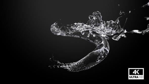 Vortex Splash Of Pure Water