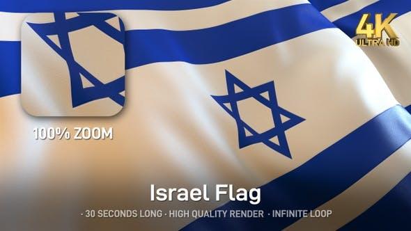 Thumbnail for Israel Flag - 4K