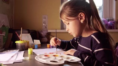Painting Paints at Home