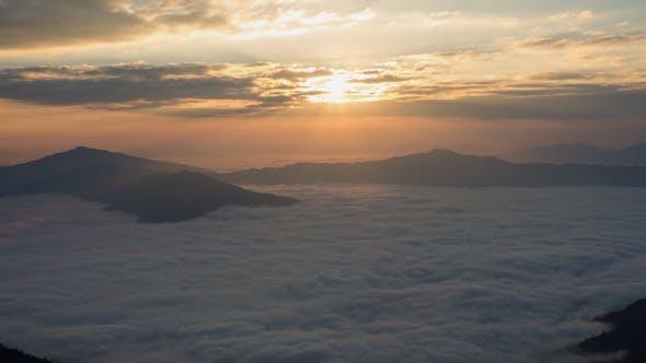 Thumbnail for Morning Fog On Mountain