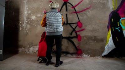 Grandma Graffiti Artist