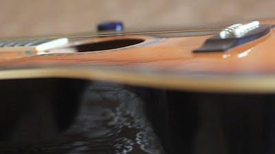Guitar Slider Shot