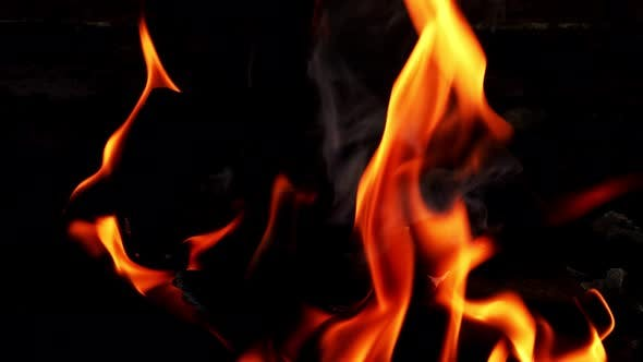 Thumbnail for Coal Fire Burning 2