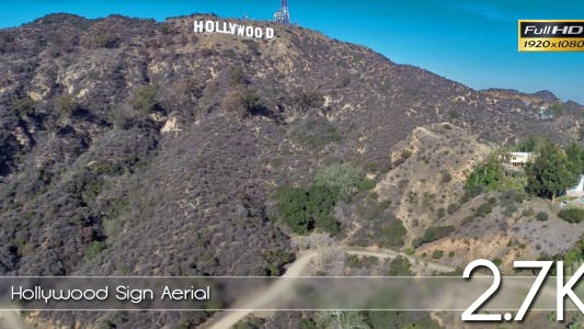Hollywood Sign Aerial