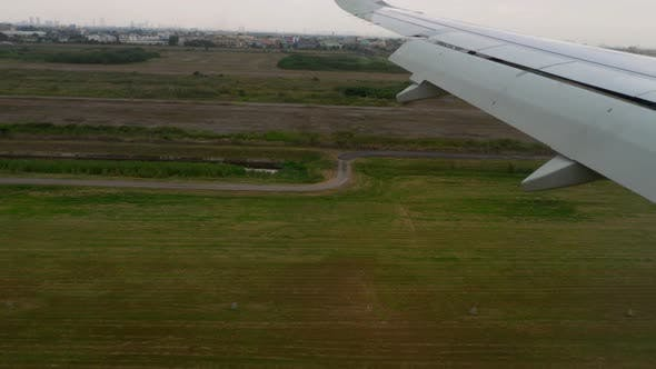 Thumbnail for Airplane Approaching Before Landing During the Rain