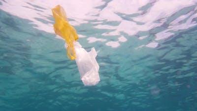 Plastic Bag in the Sea.