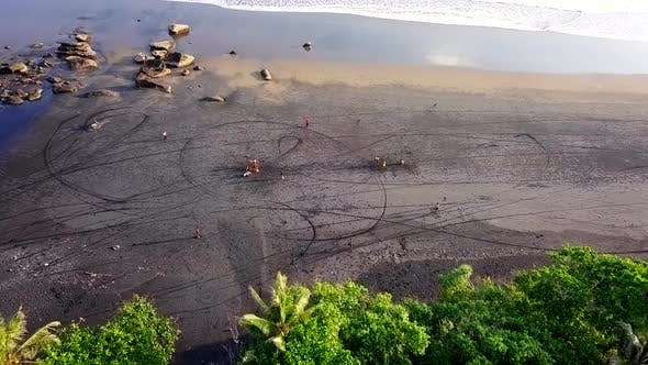 Thumbnail for Flying over Beach in Bali