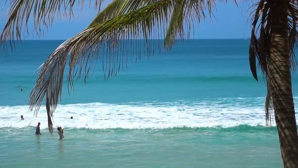 Thumbnail for Waves on Nai Harn beach