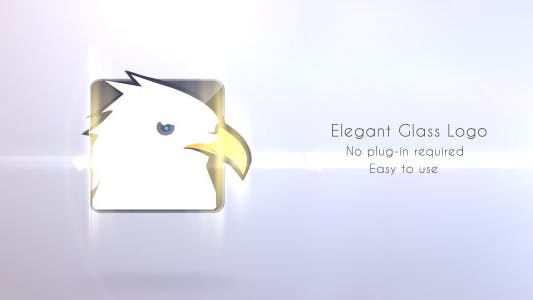 Thumbnail for Elegant Glass Logo