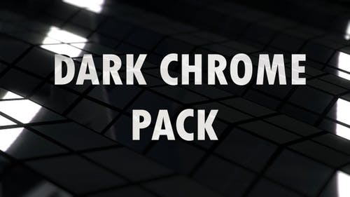 Dark Chrome Reflections