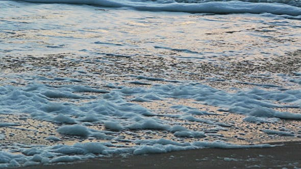 Cover Image for Beach Sand with Waves Coming