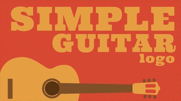 Thumbnail for Logo de Guitarra Simple.