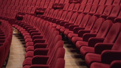 Lots of Red Chairs in the Theater