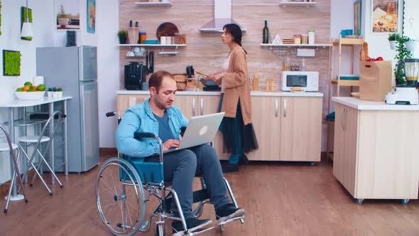Thumbnail for Handicapped Entrepreneur in Wheelchair