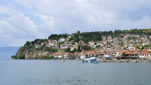 Thumbnail for Lake Ohrid, Ancient Historic City District Heritage Travel Destination Macedonia