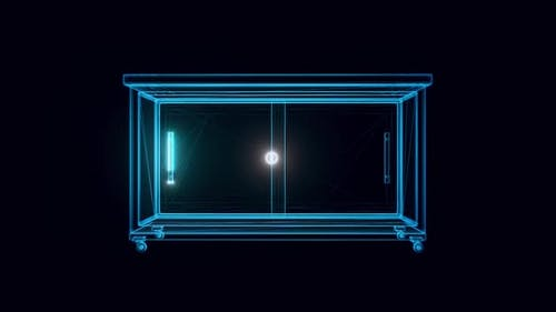 Wood Cabinet Hologram Hd