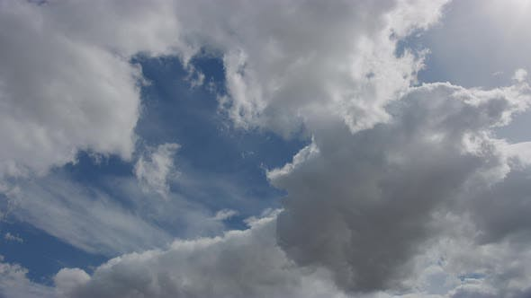 Cover Image for Cloudy Blue Skies Moving Towards the Left