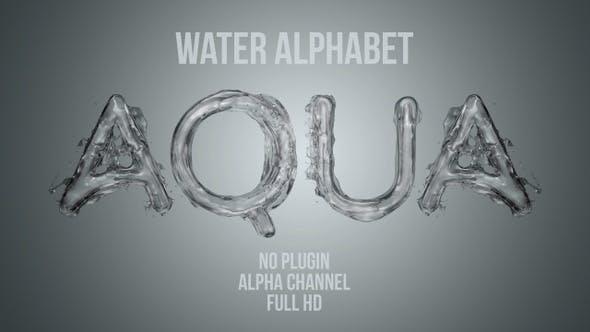Thumbnail for Water Liquid Alphabet